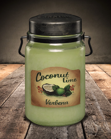 Coconut Lime Verbena 26 oz.