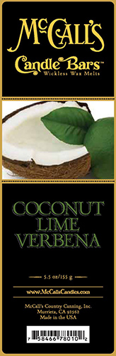 Coconut Lime Verbena Bars