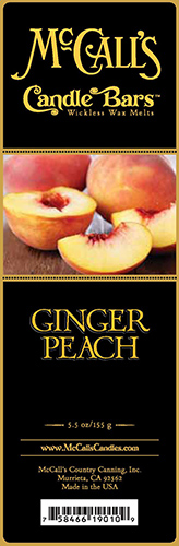 Ginger Peach Bars