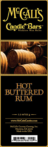 Hot Buttered Rum Bars