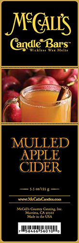 Mulled Apple Cider Bars