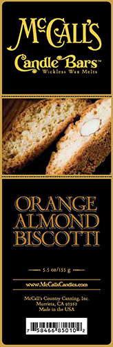 Orange Almond Biscotti Bars