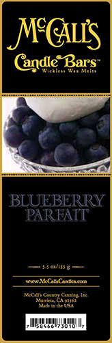 Blueberry Parfait* Bars